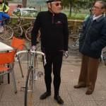 Un ciclista d'epoca