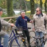 Aldo Tabanelli, decano dei ciclisti imolesi