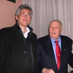 Il mitico Vito Ortelli con Daniele Rivola