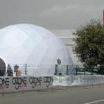 Il Dome con la mostra AVER